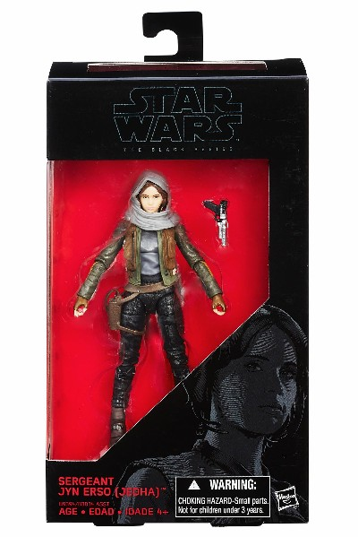 Hasbro Star Wars Black Series Sergeant Jyn Erso 6 Inch Figure